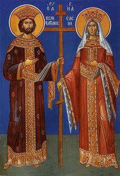 Byzantine Icons, Orthodox Icons, Eastern Europe, Rubrics, Emperor, Saints, Wonder Woman, Princess Zelda, Superhero