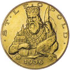 1. Republik-Bundesstaat 1918 - 1938 25 Schilling 1936, Gold