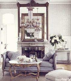 Keltainen talo rannalla: Valkoista, romanttista ja rustiikkista