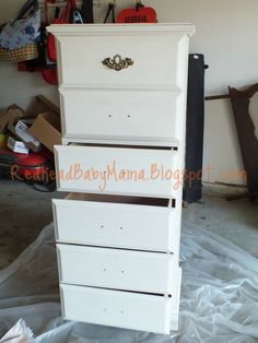 Paint Your Furniture with NO Sanding! - Redhead Baby Mama | Atlanta Mom Blogger