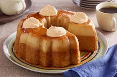 Pumpkin Flan Cake... This looks totally decadent.  So of course I'm gonna try it out! LOL!