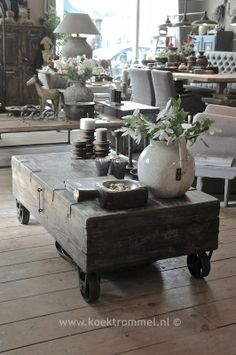 Rustic Furniture When it comes to furniture shopping, few enjoy the quest. Having to look at bed after bed, dining table after dining table, can really grate on your nerves. Rustic House, Decor, Farmhouse Furniture, Furniture, Rustic Furniture, Home Furniture, Coffee Table, Reclaimed Wood Coffee Table, Home Decor