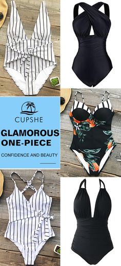 Get ready for a pleasant trip, a suitable one-piece will always make you elegant! Add spice to your beach vacation with a GLAMOROUS swimsuit! Cupshe, Live Life on the Beach!