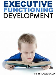 What is Executive Function in Child Development - The OT Toolbox Child Development Activities, Motor Activities, Therapy Activities, Childcare Activities, Therapy Ideas, Language Development, Family Activities, Pediatric Physical Therapy, Pediatric Ot