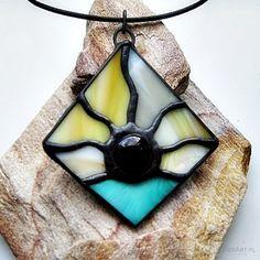 Wisior Wschód słońca - Naszyjniki, korale - Biżuteria artystyczna