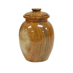 Decorative Urn Glamorous Wooden Cremation Urn  Human Or Pet Ashes  Hand Turned Segmented 2018