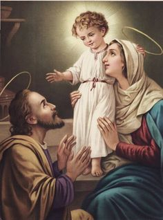 The Holy Family via May