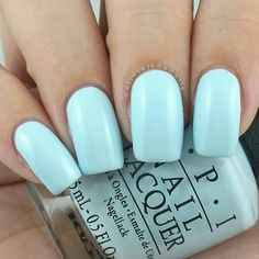 OPI It's A Boy! swatched by Olivia Jade Nails