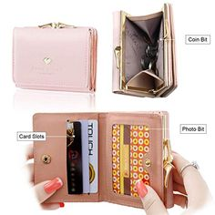 110b755d79db5 10 Best Queenly Women Candy Color Nubuck Leather Long Wallet Button ...