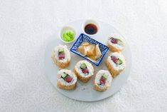 Urumaki sushi (inside out roll)