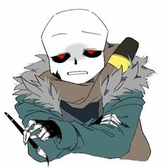 Angry ink sans