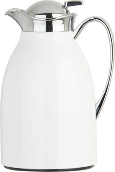 Thermal White Carafe    Crate and Barrel