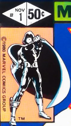 Marvel corner box art - Moon Knight #1
