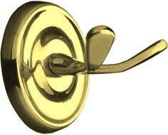 Taymor 04-PB7902 Maxwell Series Double Robe Hook, Polished Brass by North. $16.08. From the Manufacturer                The Taymor 04-PB7902 Maxwell Series Double Robe Hook features a Polished Brass finish in a traditional design for a classic feel for any bathroom. It has a clean, transitional look for a design that will enhance your bathroom decor. The 04-PB7902 comes one per package, includes all the mounting hardware, and measures 2.75-inches wide x 2.75-inches high ...