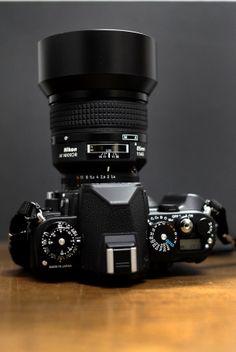 Df85f1.4D Nikon Camera Lenses, Nikon Df, Slr Camera, Canon Cameras, Canon Lens, Camera Hacks, Camera Gear, Classic Camera, Camera Obscura