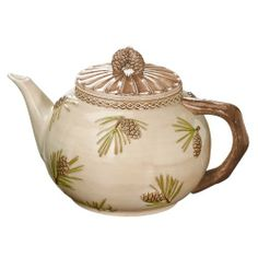 "VERY PRETTY!!  Grasslands Road Cabin Fever 11-Inch by 7-1/2-Inch by 7"" Pinecone Teapot, 32-Ounce Grasslands Road,http://www.amazon.com/dp/B004185EWG/ref=cm_sw_r_pi_dp_lF2ltb1SHTAAM6ZQ"