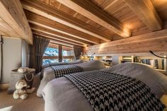 Contemporary mountain style apartment in Les Arcs designed by AMDECO - CAANdesign   Architecture and home design blog