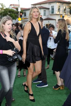 Maria Sharapova 'Battle of the Sexes' Los Angeles Premiere