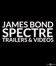 New James Bond Spectre movie trailer has been released. Plus, I enjoyed a few other videos including one about the CARS of James Bond.