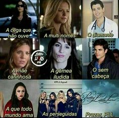 As perseguidas 😹😹 Pll💥😎 Frases Pll, Prety Little Liars, Pll Memes, Liar Game, Brenda Song, Himym, Education Quotes, Favorite Tv Shows, My Books