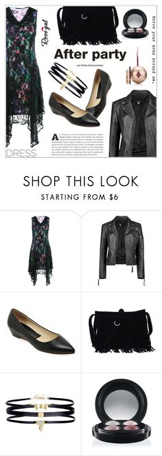 """""""RoseGal #46"""" by shambala-379 ❤ liked on Polyvore featuring Boohoo, MAC Cosmetics, Charlotte Tilbury and dreamydresses"""