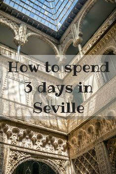 is 3 days the perfect amount oof time in Seville? We think so we had a great staycation visited the sights and leaned about the Adaluscian culture. . #Seville #spain  #familytravel  #travel #europe . | Seville Spain Travel | Things to do in Seville Spain |