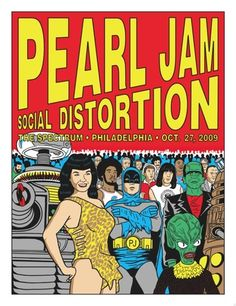 Pearl Jam poster...would've loved to have been at this show!