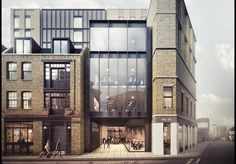 AHMM's Shoreditch Estate scheme goes in for planning | News | Architects Journal
