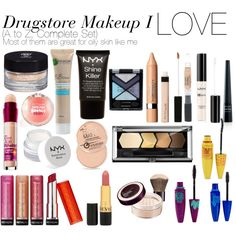 Drugstore Makeup I LOVE