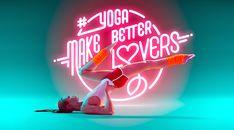 E-TV SPORT culture | Yoga To the Core: des positions de Yoga sous fond de néons