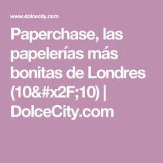 Paperchase, las papelerías más bonitas de Londres (10/10) | DolceCity.com