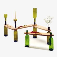 Dvinus Table by Tati Guimarães for Ciclus - A forward-thinking series of green interior accessories and tables | MONOQI