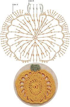 Crochet Leaf Patterns, Crochet Snowflake Pattern, Crochet Leaves, Crochet Snowflakes, Crochet Diagram, Crochet Chart, Crochet Flowers, Crochet Wreath, Diy Crochet