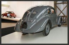KdF Wagen 1937, the predecessor of the VW Beetle.