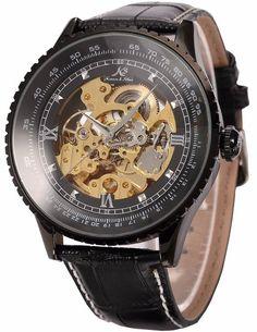 KS Automatikuhr groß Herren Uhr Mechanische Automatik Uhr Herrenuhr Armbanduhr KS114