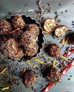 Συνταγή για τρουφάκια Meat, Recipes, Food, Beef, Meal, Rezepte, Hoods, Ripped Recipes, Eten
