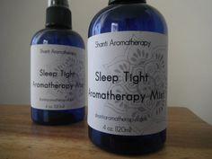 Sleep Tight Aromatherapy Mist for Insomnia by ShantiAromatherapy, $7.00
