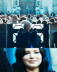 Yep.I just about had a heart attack after watching the sneak preview of THE CATCHING FIRE TRAILER. THAT FACE. #loveher