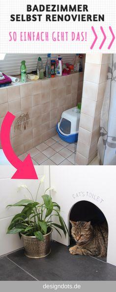 Badezimmer selbst renovieren vorher/nachher Bath