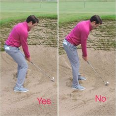 Golf Tips Swing Learning how to play golf bunker shots will save you many shots during a round of golf. Learn these 4 vital parts to playing good golf bunker shots every time. Golf R, Play Golf, Sport Golf, Disc Golf, Tennis Clubs, Golf Clubs, Tennis Players, How To Play Tennis, Tennis Tips