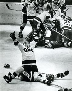 """Miracle on Ice"" is the name for a medal-round men's ice hockey game during the 1980 Winter Olympics at Lake Placid, New York, on Friday, 2/22. Team USA, made up of amateur & collegiate players & led by coach Herb Brooks, defeated the Soviet Union national team, who had won nearly every world championship & Olympic tournament since 1954. Team USA went on to win the gold medal by winning its last match over Finland. The Soviet Union took the silver medal by beating Sweden in its final game."