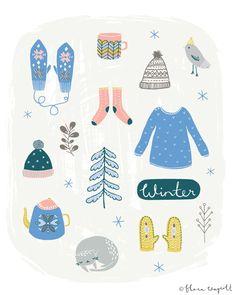 Winter art | Flora Waycott