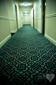 Love this hotel's carpet!.. I love the hotel roanoke! Can't wait to go back!!!