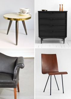 vintage furniture on etsy