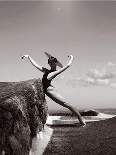 Fabrizio Ferri for the annual Aldo Coppola calendar he photographed dancers from the American Ballet Theatre
