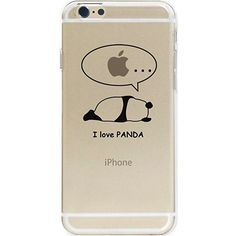 iPhone 7 Coque Pacyer® Ultra-Thin Crystal Clear TPU Silicone Clair Transparente Ultra Mince Premium Transparent Exact Fit Soft Etui Coque Pour iPhone 7 4.7'' Panda (13)