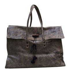 2DAYS bag - one of a kind - by V.Barkowski - Marrakech