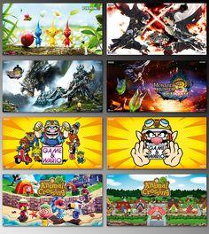 Banner 3410x1760 . AnimagiC '13 . div. Titel . Wii U, Nintendo 3DS
