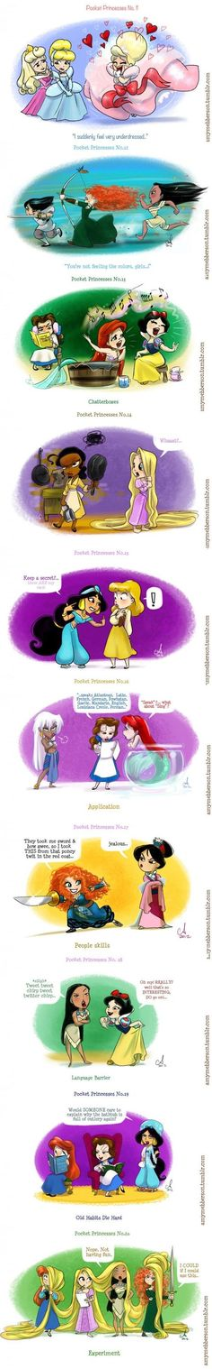 pocket princesses # 11, 12, 13, 14, 15, 16, 17, 18, 19, 20.: