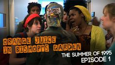Time to rejoice, #OJBG darlings! The show was just released on an ALL NEW PLATFORM. Please show IndieFlix some love.  #digitalmedia #newmedia #teenspirit #90s #grunge #webseries #20/20Productions #orangejuiceinbishop'sgarden